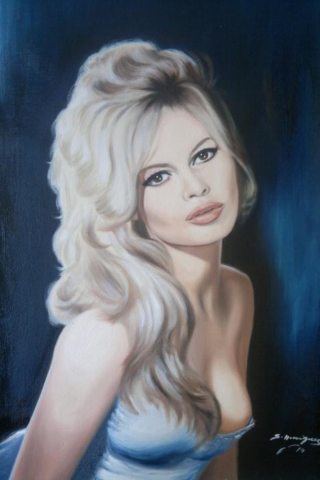 Brigitte Bardot by wisewyn